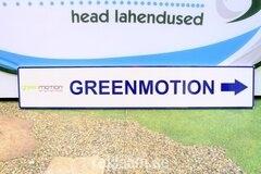 Suunaviit, reflektorkleebisega, Greenmotion