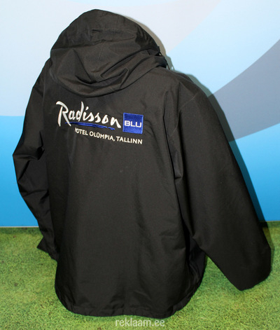 Jope, tikitud logoga, Radisson SAS