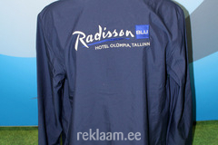 Tuulejope, tikitud logoga, Radisson SAS