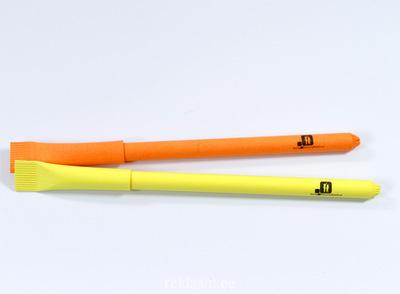 Kartongist pastapliiats logoga,  Keila Noortekeskus