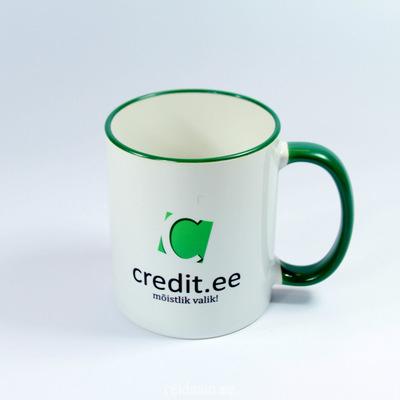 Trükiga kruus Credit.ee