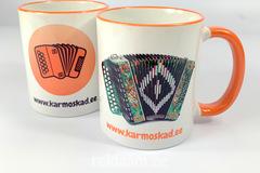 Logotrükiga tassid, Karmoskad