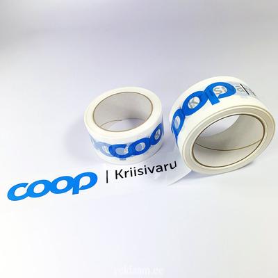 Logoga pakketeip, COOP