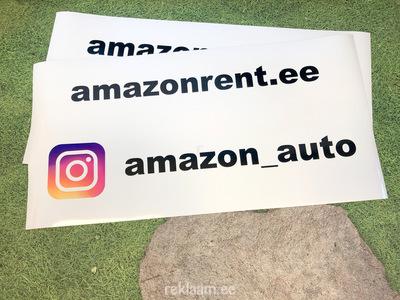 Magnetkleebised, Amazon Rent