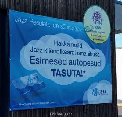 Reklaambanner Jazz Pesulad