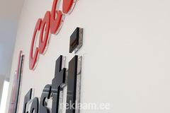 Seinalogo kontorisse, Coca-Cola Eesti