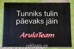 Logoga uksematt, ArulaTeam