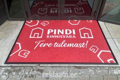 Logoga vaip välitingimustesse, Pindi Kinnisvara