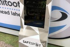 Desojaama reklaamkleebis,  SAFESPOT