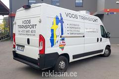Reklaamkleebised kaubikule, Voog Transport