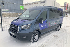 Reklaamkleebised bussile, CFC