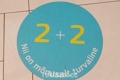 Põrandakleebis 2+2