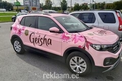 AUTOKLEEBISED - Geisha reklaamauto