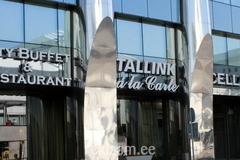 Tallink hotelli fassaadireklaam